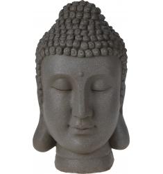 Cabeza Budha resina 32 cm