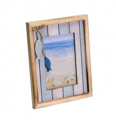 Portafoto madera-playa 10x15cm