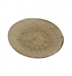 Plato llano ceramica TRONCO 26cm