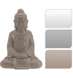 Buda sentado porcelana 24cm.