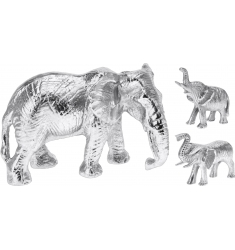 Elefante metal 13cm.