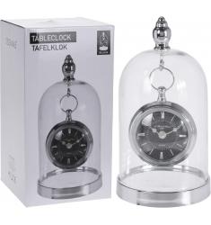 Reloj sobremesa cupula de cristal