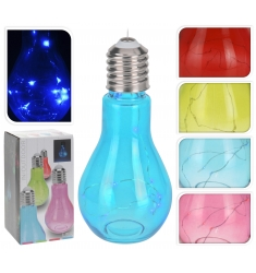 Lampara bombilla LED 19x9cm.