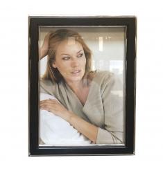 Portafoto madera y metal 15x20