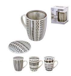 Taza mug con filtro CENEFAS 300 ml.