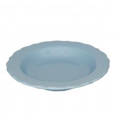 Plato hondo azul 23cm