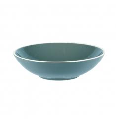 Plato hondo ceramica azul 26cm