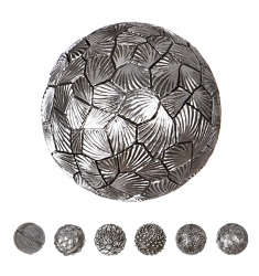 Bolas decoración resina 8cm.modelos surtidos