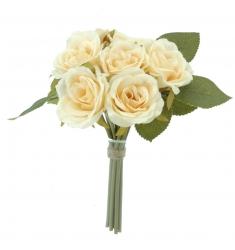Ramo 7 rosas BEIGE