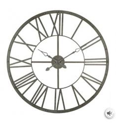 Reloj metal gris  d 96  gris