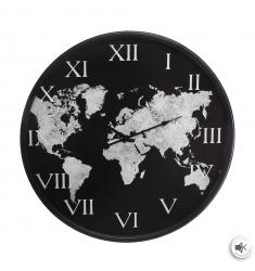 Relój metal  57cm. mundial