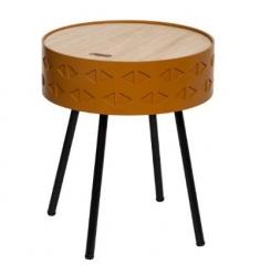 Mesa con tapa 38x45 CAFÉ