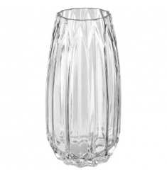 Florero cristal 26x13cm diametro