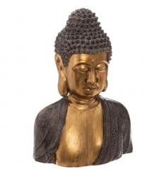 Buda de oro busto de magnesio. Alto 41 cm
