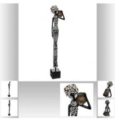 Estatuilla de mujer africana 42cm
