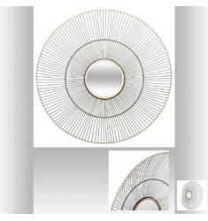 Espejo Metal D 64,5 x 15cm