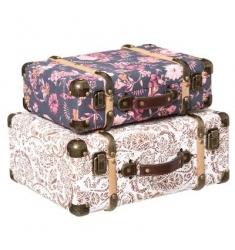 Set 2 maletas 40x30cm y 36x26cm