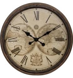 Reloj pared mundial de resina D 51,5cm