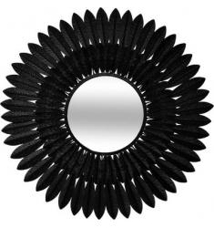 Espejo de metal D 63cm