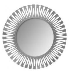Espejo metal d89  gris