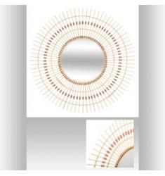 Espejo Bambú Perla D 76CM