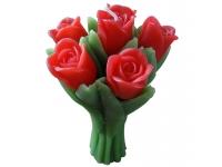 Vela 6 Rosas
