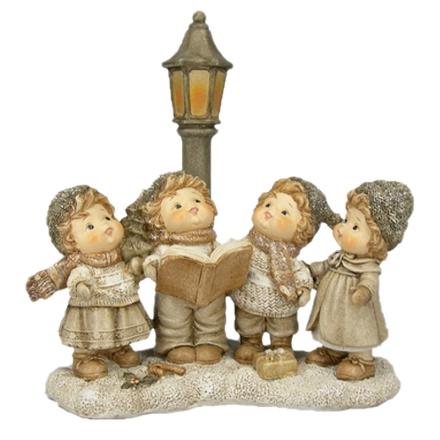 Figuras de niños cantores