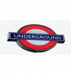 Silueta cuadro LONDRES 8 - 70x150cm.