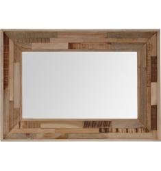 Espejo madera 75x50cm.