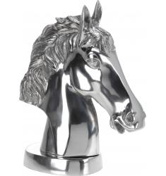 Figura cabeza de caballo en aluminio 45cm