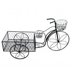 Biciclo antigüo en forja