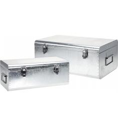Set 2 baules metal