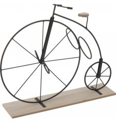 Bicicleta-botellero rueda grande