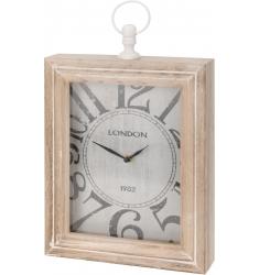 Reloj madera sobremesa 30cm.