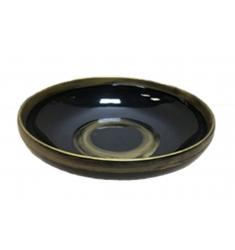 Centro mesa negro/oro