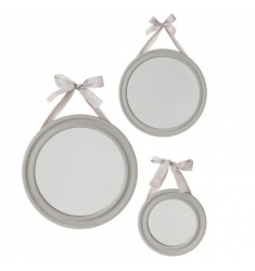 Set 3 espejos 33-27-20cm diametro
