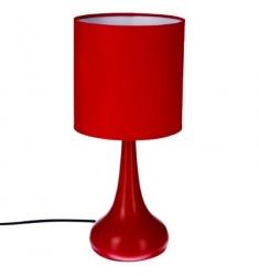 Lámpara táctil metal Rojo H33