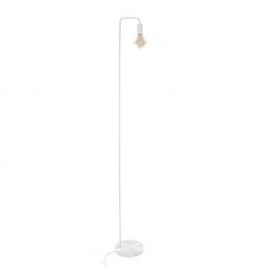 Lampara pie metal blanca 150cm