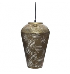 Lampara techo metal oro-mate 100x32x20cm diametro