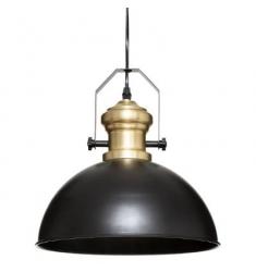 Lampara techo en metal 80x32x31cm diametro