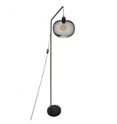 Lampara pie en metal 160x25cm diametro