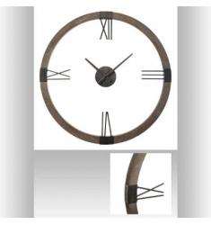 Reloj metal-madera d 58