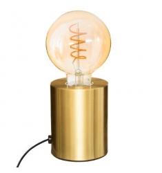 Lámpara metal  ORO Alto 10cm- D 9cm