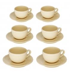 Set 12 piezas de café CREMA