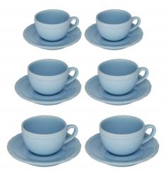 Set 12 piezas de café AZUL