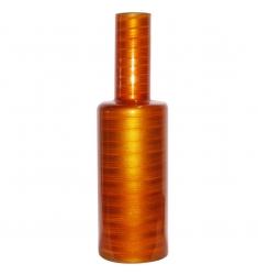 Jarrón de Cristal Naranja