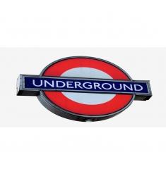 Silueta cuadro LONDRES 8 - 60x120cm.