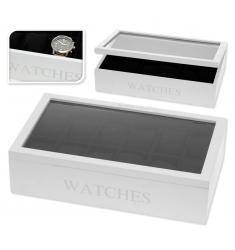 Caja madera  para 12 relojes