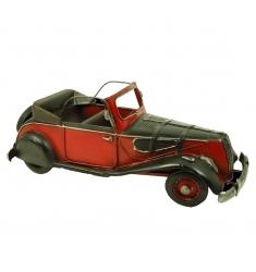 Maqueta metal coche antigüo descapotable