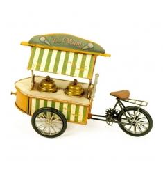 Maqueta triciclo helados metal